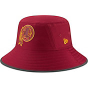 New Era Men's Washington Redskins Sideline Training Camp Red Bucket Hat