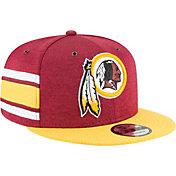 New Era Men's Washington Redskins Sideline Home 9Fifty Red Adjustable Hat
