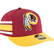 New Era Men's Washington Redskins Sideline Home 59Fifty Red Fitted Hat