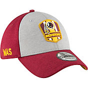 New Era Men's Washington Redskins Sideline Road 39Thirty Stretch Fit Hat