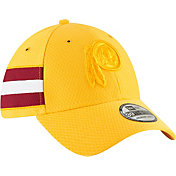 New Era Men's Washington Redskins Sideline Color Rush 39Thirty Gold Stretch Fit Hat