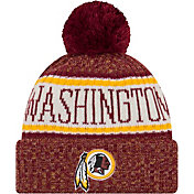 New Era Men's Washington Redskins Sideline Cold Weather Red Sport Knit