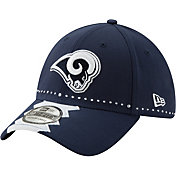 New Era Men's Los Angeles Rams 2019 NFL Draft 39Thirty Stretch Fit Blue Hat
