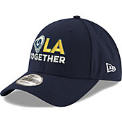 New Era Men's Los Angeles Rams LA Together 9Forty Navy Adjustable Hat