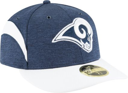 save off 30c37 2f337 ... norway new era mens los angeles rams sideline home 59fifty navy fitted  hat ebe03 49d8f