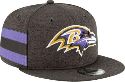 581763b0f73 New Era Men s Baltimore Ravens Sideline Home 9Fifty Black Adjustable Hat.  noImageFound