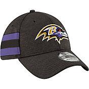 New Era Men's Baltimore Ravens Sideline Home 39Thirty Black Stretch Fit Hat