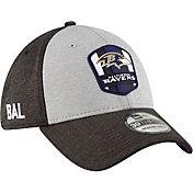 New Era Men's Baltimore Ravens Sideline Road 39Thirty Stretch Fit Hat