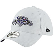 New Era Men's Baltimore Ravens Sideline Training Camp 39Thirty Grey Stretch Fit Hat