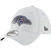 New Era Men's Baltimore Ravens Sideline Training Camp 39Thirty Grey Stretch Fit Hat