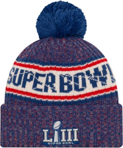 48bb3d1f7 New Era Men s Super Bowl LIII Navy Sport Knit. noImageFound