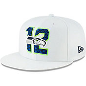 New Era Men's Seattle Seahawks 2019 NFL Draft 9Fifty Snapback Adjustable White Hat