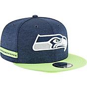 dff735c2d97 New Era Men s Seattle Seahawks Sideline Home 9Fifty Blue Adjustable Hat