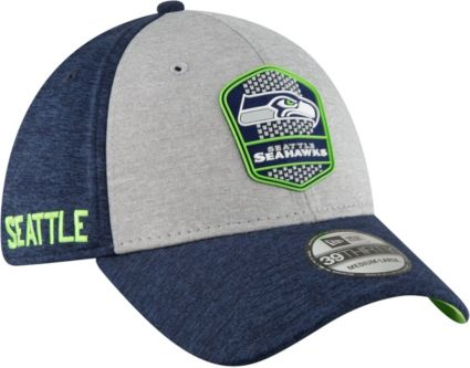 5d6e9450b2c28 New Era Men s Seattle Seahawks Sideline Road 39Thirty Stretch Fit ...