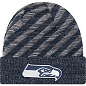 New Era Men's Seattle Seahawks Sideline Cold Weather TD Navy Knit