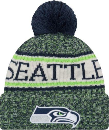 New Era Men s Seattle Seahawks Sideline Cold Weather Navy Sport Knit.  noImageFound ab1e68c79