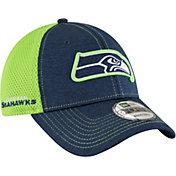 New Era Men's Seattle Seahawks Surge 9Forty Navy Adjustable Hat