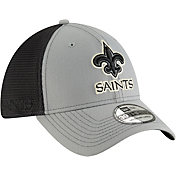 New Era Men's New Orleans Saints 2Tone-Sided Graphite Stretch-Fit Hat