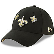 New Era Men's New Orleans Saints 2019 NFL Draft 39Thirty Stretch Fit Black Hat