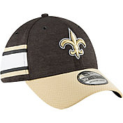 New Era Men's New Orleans Saints Sideline Home 39Thirty Black Stretch Fit Hat