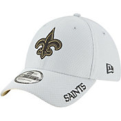 New Era Men's New Orleans Saints Sideline Training Camp 39Thirty Grey Stretch Fit Hat
