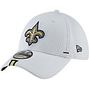 New Era Men's New Orleans Saints Sideline Training Camp 39Thirty Stretch Fit White Hat