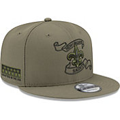 New Era Men's New Orleans Saints Crafted in the USA Adjustable Olive Hat