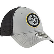 New Era Men's Pittsburgh Steelers 2Tone-Sided Graphite Stretch-Fit Hat