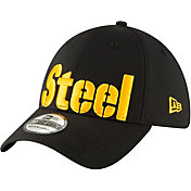 New Era Men's Pittsburgh Steelers 'Designed by JuJu' 39Thirty Black Stretch Fit Hat