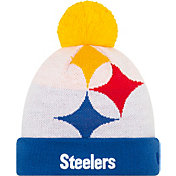 New Era Men's Pittsburgh Steelers 'Designed by JuJu' White Knit