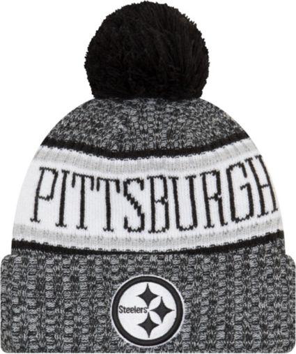 a6c4cb662de New Era Men s Pittsburgh Steelers Sideline Cold Weather Reverse Black Sport  Knit. noImageFound