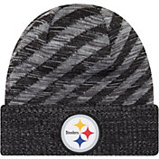 New Era Men's Pittsburgh Steelers Sideline Cold Weather TD Black Knit