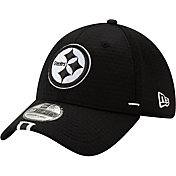 new style 20ebb 7a299 Product Image · New Era Men s Pittsburgh Steelers Sideline Training Camp  39Thirty Stretch Fit Black Hat