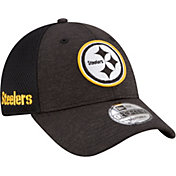 New Era Men's Pittsburgh Steelers Surge 9Forty Black Adjustable Hat