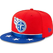 New Era Men's Tennessee Titans 2019 NFL Draft 9Fifty Snapback Adjustable Red Hat