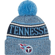 New Era Men's Tennessee Titans Sideline Cold Weather Reverse Sport White Knit