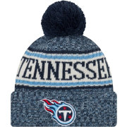 New Era Men's Tennessee Titans Sideline Cold Weather Navy Sport Knit