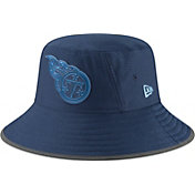 New Era Men's Tennessee Titans Sideline Training Camp Navy Bucket Hat