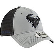 New Era Men's Houston Texans 2Tone-Sided Graphite Stretch-Fit Hat