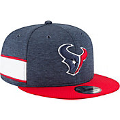 New Era Men's Houston Texans Sideline Home 9Fifty Navy Adjustable Hat
