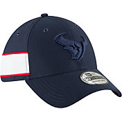 New Era Men's Houston Texans Sideline Color Rush 39Thirty Navy Stretch Fit Hat