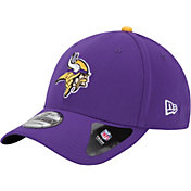 New Era Men's Minnesota Vikings Team Classic 39Thirty Purple Stretch Fit Hat