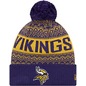 00dd48f844cc9 Product Image · New Era Men s Minnesota Vikings Wintry Purple Pom Knit