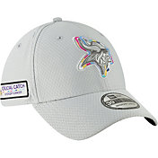 New Era Men's Crucial Catch Minnesota Vikings Sideline 39Thirty White Stretch Fit Hat
