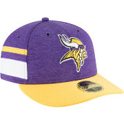 New Era Men's Minnesota Vikings Sideline Home 59Fifty Purple Fitted Hat