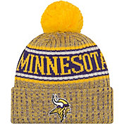 ad42ac8b920c29 New Era Men's Minnesota Vikings Sideline Cold Weather Reverse Yellow Sport  Knit