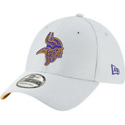 New Era Men's Minnesota Vikings Sideline Training Camp 39Thirty Grey Stretch Fit Hat