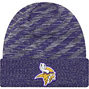 New Era Men's Minnesota Vikings Sideline Cold Weather TD Purple Knit
