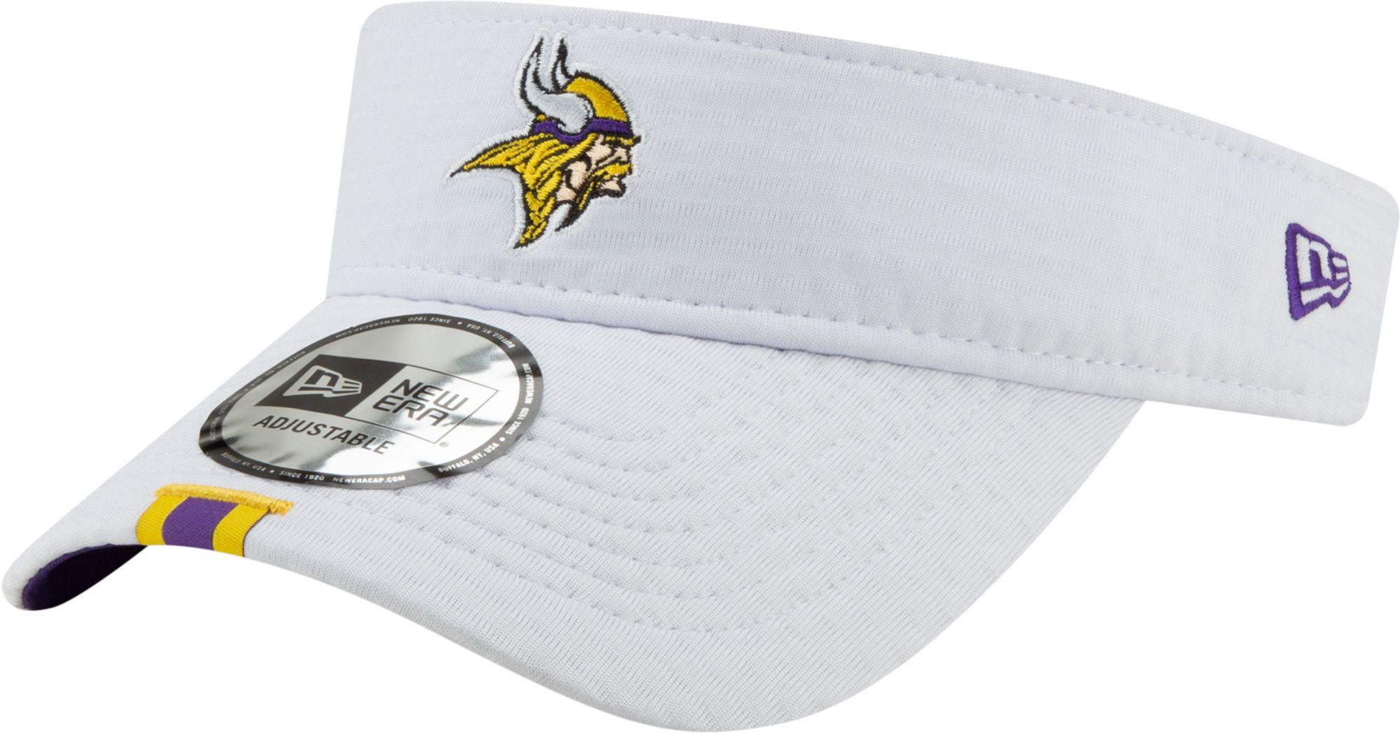 507db0d3 New Era Men's Minnesota Vikings Sideline Training Camp Adjustable White  Visor