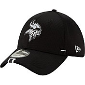 New Era Men's Minnesota Vikings Sideline Training Camp 39Thirty Stretch Fit Black Hat